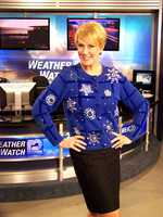 Sally said she was once told to never wear this sweater on television again.  She had to bring it back just for today.