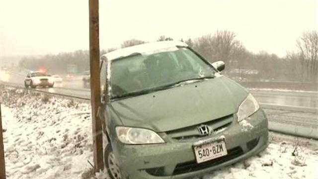 Messy evening commute in Waukesha County