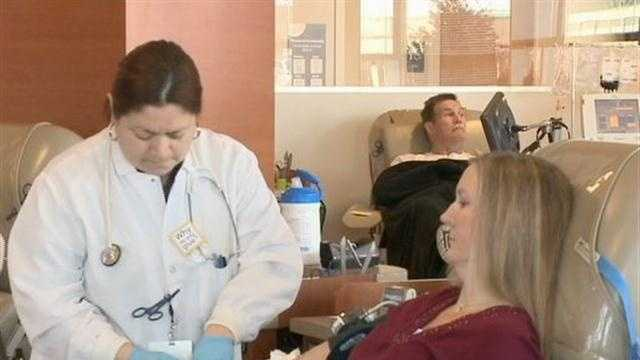 Blood donations low ahead of holiday