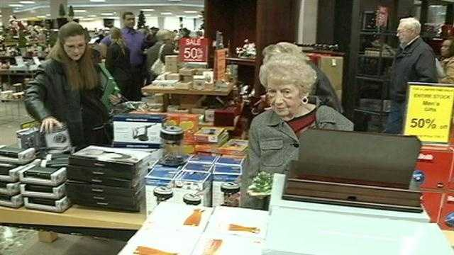 The rush is on for shoppers to get rid of unwanted Christmas gifts.