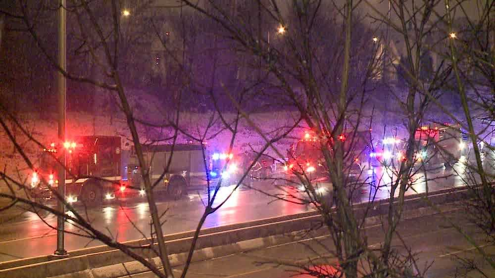 Squad hit by drunk driver in Milwaukee