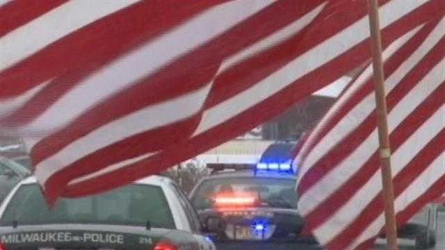 Funeral service held for Officer Jen Sebena