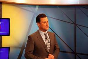 Jimmy Kimmel's friend Carson Daly used to babysit for Jimmy's daughter.