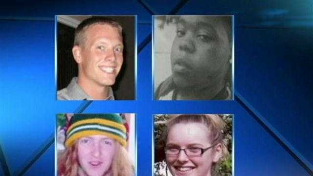 four missing people
