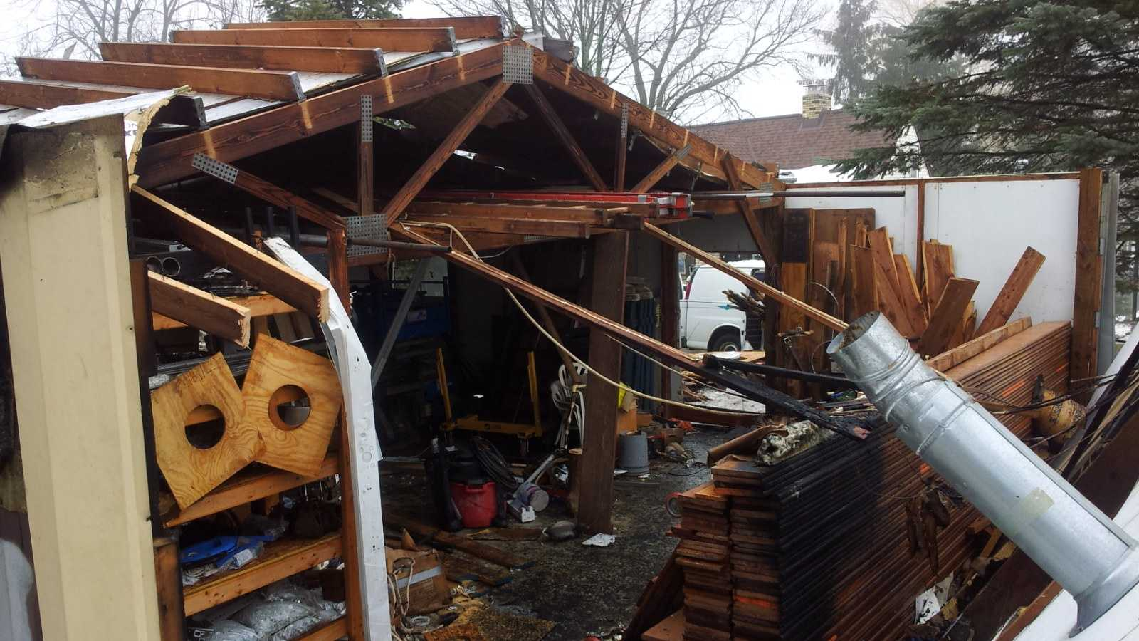 Hartford garage explosion
