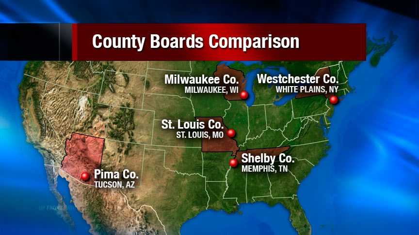 County boards map