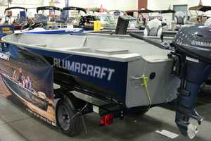 Even aluminum fishing boats are available.