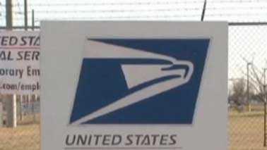 USPS sign