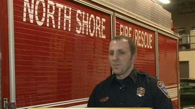 12 News Nick Bohr talks with the off duty firefighter who tried to save a woman from her burning car.