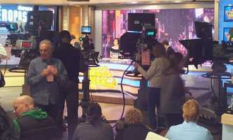 "Behind the scenes at ""Good Morning America."""