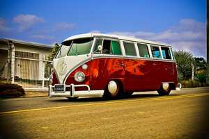 """""""Traveling in a fried-out Kombi""""A Kombi is officially known as a Volkswagen Type 2 in Australia.We know it better as the VW Microbus."""
