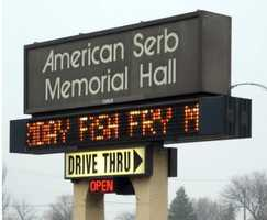 American Serb Hall - 5101 W. Oklahoma Ave., Milwaukee