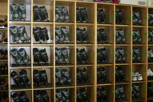 Skates are also available for rental.