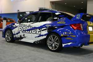 The Greenfield PD has a new car in its fleet.