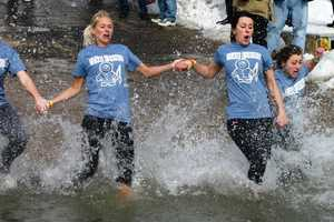 The Plunge raises money for Special Olympics.