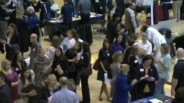 A job fair searching for Milwaukee Public School teachers attracted hundreds of candidates on Saturday.