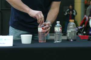 Water was provided but participants could bring their own beverage if they chose.