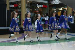 Dancers from Cashel Dennehy School of Irish Dance entertained mall patrons before and after the eating completion.