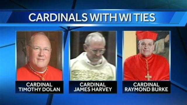 The conclave at the Vatican starts today.  Hillary Mintz reports on the three men with ties to Wisconsin who will help choose the next pope.