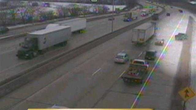 Accident happened around 2pm Monday on I-43 at the on ramp to south 84th street in Milwaukee.
