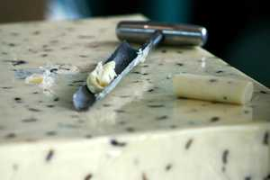 The contest consists of 82 different classes of cheese and butter.