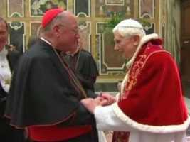 On Mar. 12, 2013, Dolan entered his first papal conclave to choose the successor to Pope Emeritus Benedict XVI.