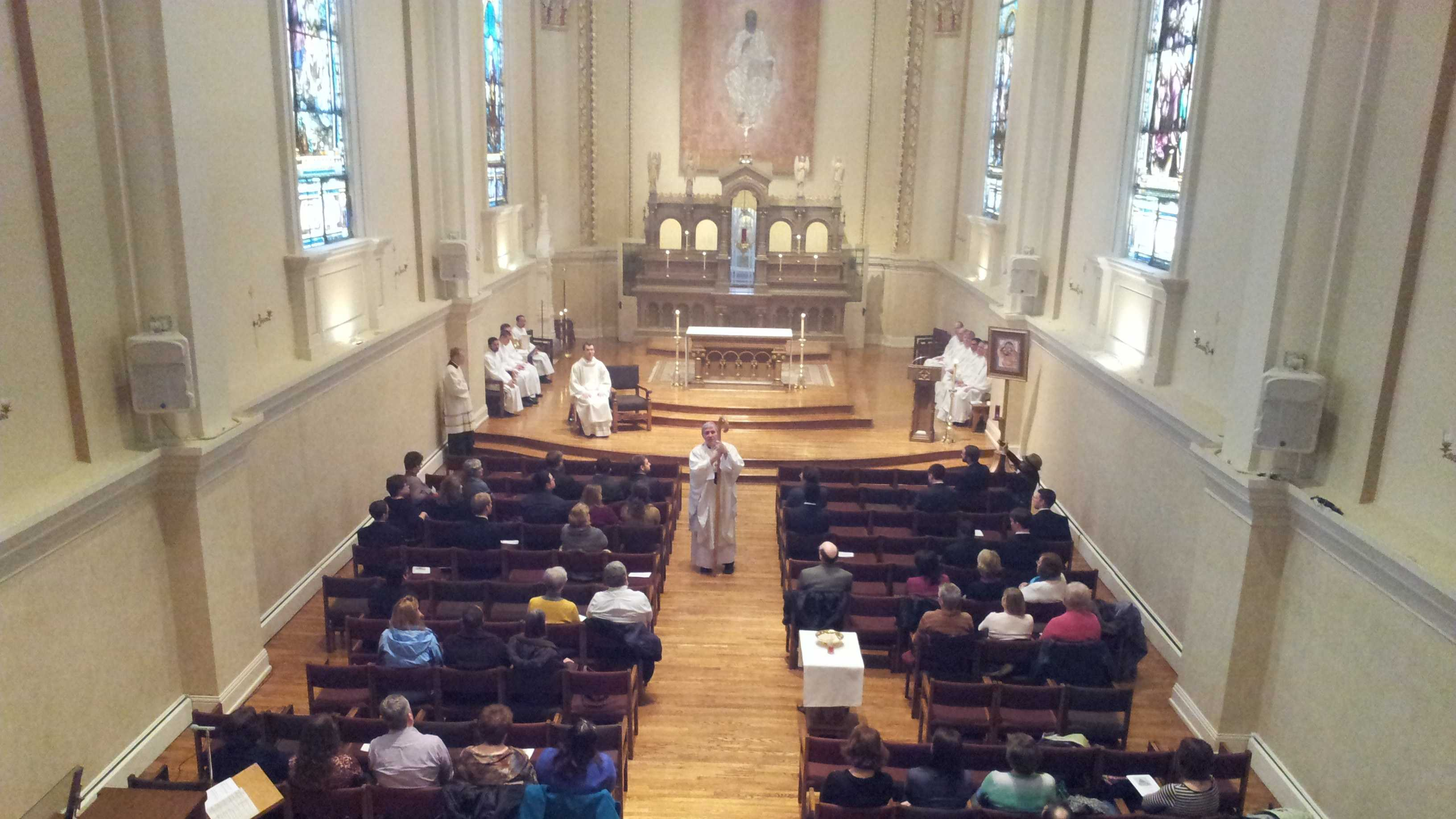 Listecki Mass in St. Francis