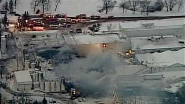 911 calls released for Echo Lake Foods fire