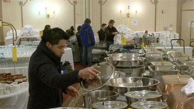 hotel sale -bowls, pots