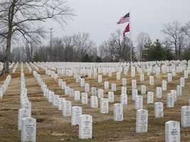If you or your spouse is an honorably discharged veteran, burial is free at a Veterans Affairs National Cemetery. This includes the grave, vault, opening and closing, marker, and setting fee.