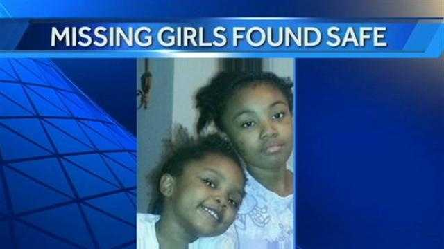 Missing sisters found safe