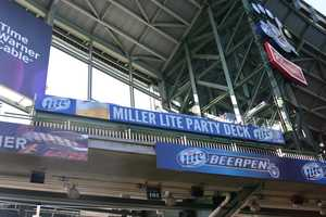 The Miller Lite Party Deck is the newest all-inclusive area at the ballpark.