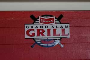 "One of the concession stands has been re-branded as the ""Klement's Grand Slam Grill""."