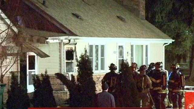 Several Waukesha County fire departments responded to a house fire in New Berlin overnight.