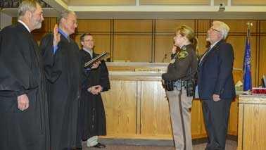 Lieutenant Patricia Ninmann sworn in
