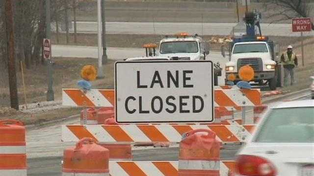 Highway 100 construction project begins