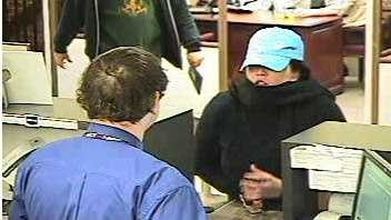 Kenosha bank robbery suspect