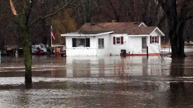 Wheatland flooding