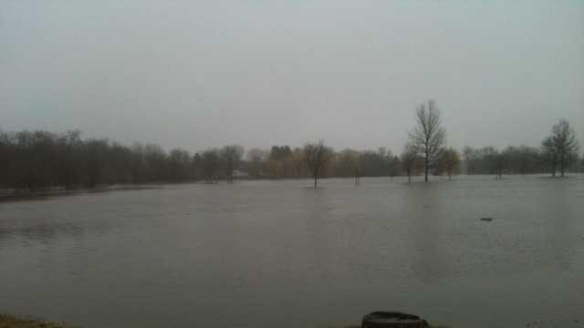 Saukville park flooding