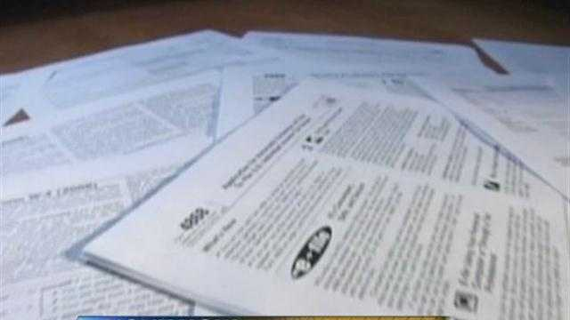 Some area post offices will be open late for tax day.  Hillary Mintz reports on what last-minute filers need to know about the extra hours.