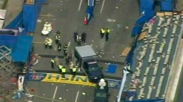 Overnight developments in the Boston Marathon bombing