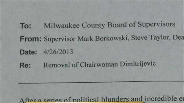 County Board letter