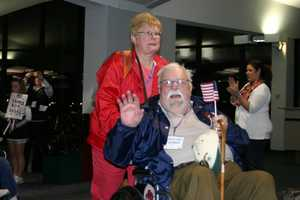 Some vets after returning from the Honor Flight actually become very involved in telling the story to community and school groups.