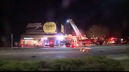 West Allis fire - strip mall