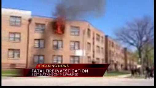fatal fire smoke and flames