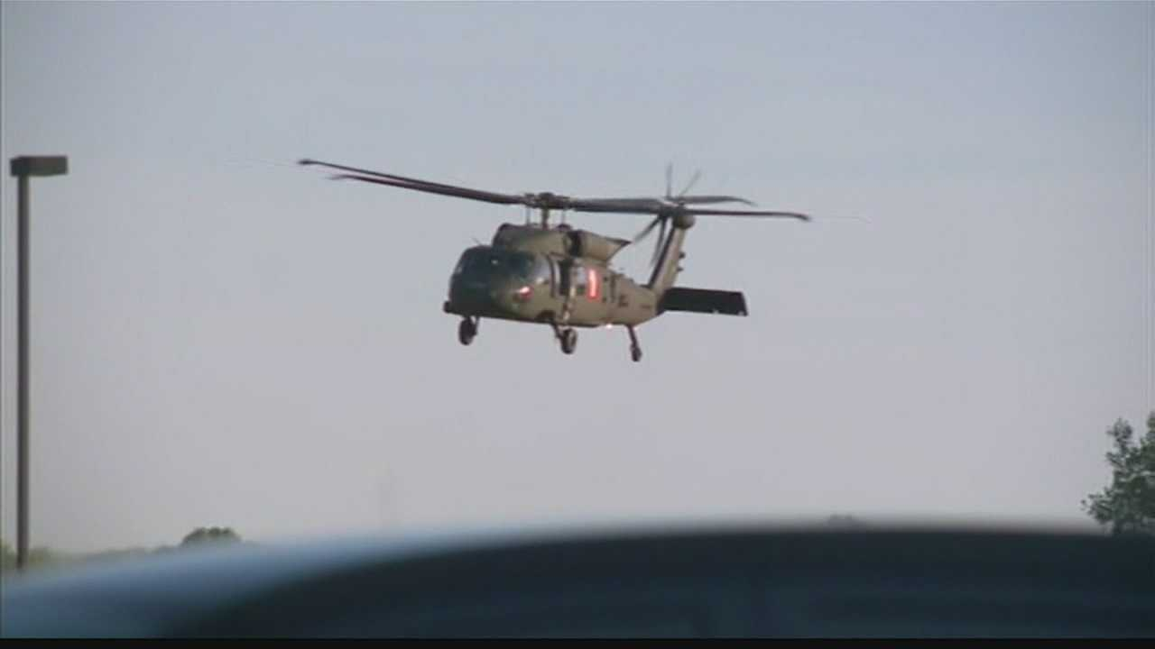 National Guard responds to Douglas County wildfire