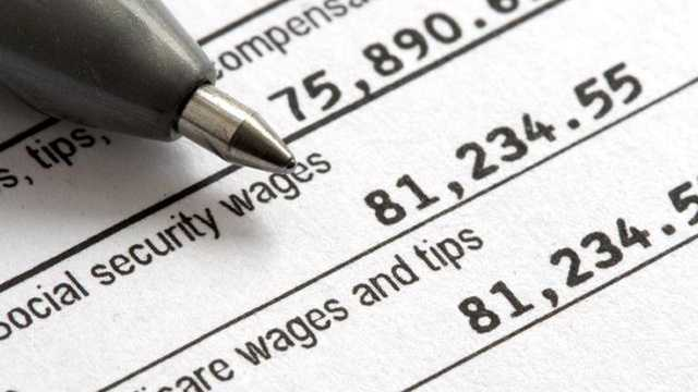 Taxes wages generic