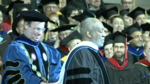 Cosby, Selig speak to graduates at MU and UWM