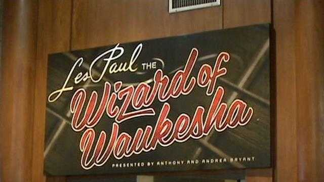 After years of planning, Waukesha's Les Paul exhibit opened to the public for the first time.