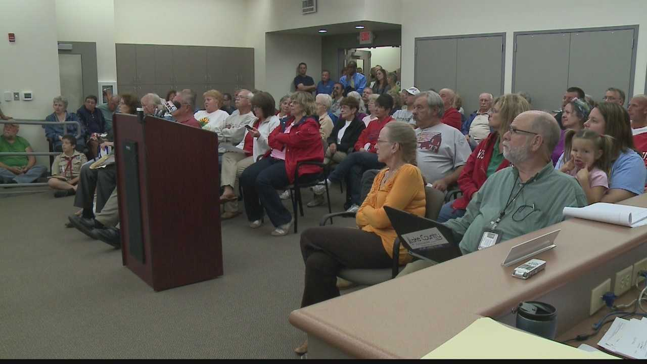 Butler residents crowd village hall to react to behavior of police department